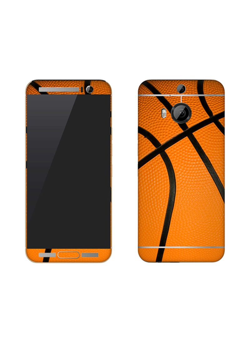 Vinyl Skin Decal For HTC One M9 Plus Basketball