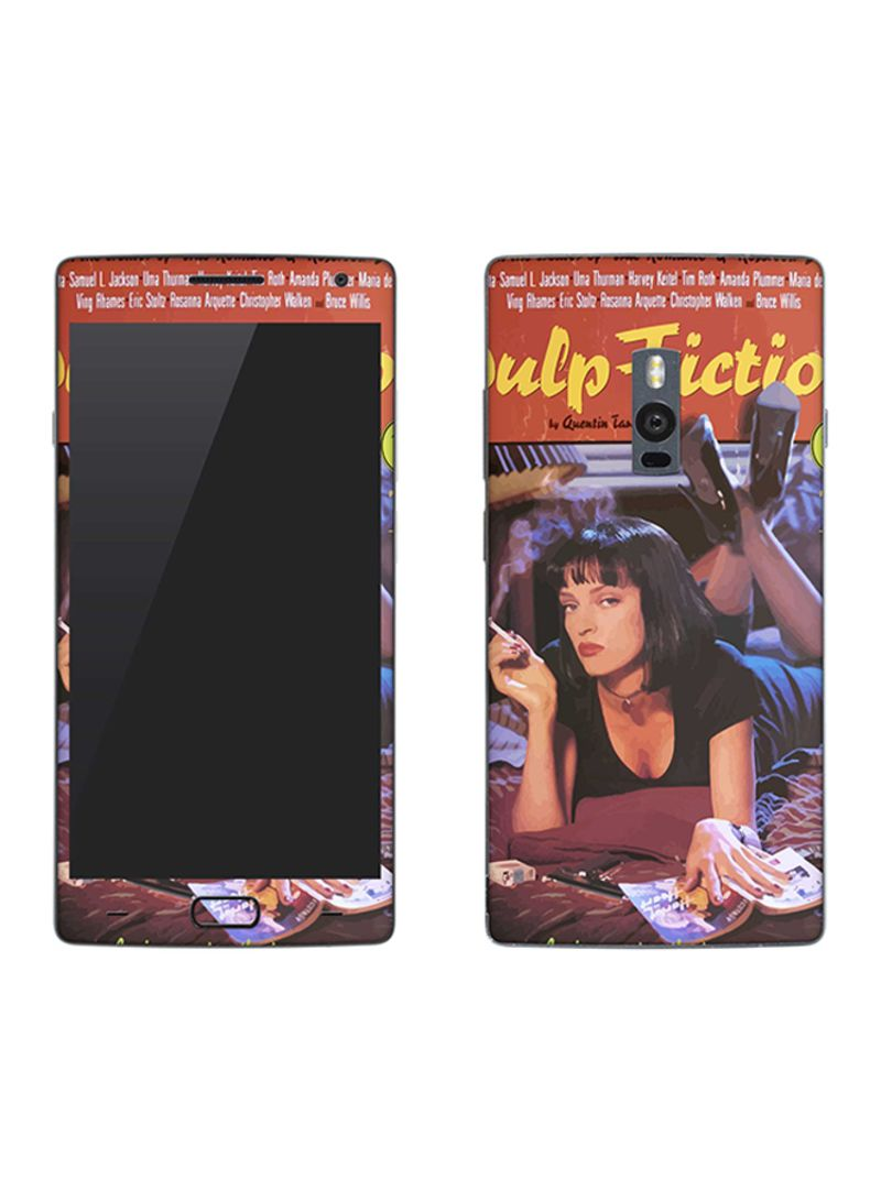 Vinyl Skin Decal For OnePlus 2 Pulp Fiction