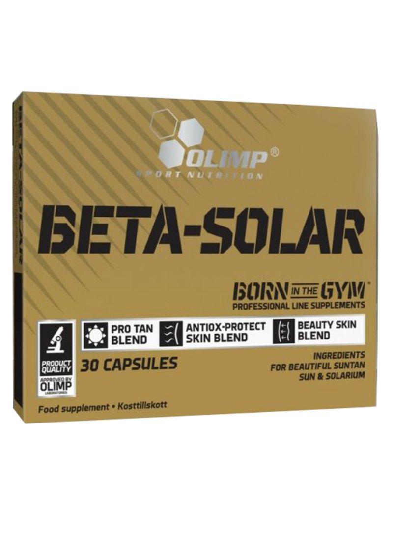 Sport Nutrition Beta-Solar - 30 Capsule