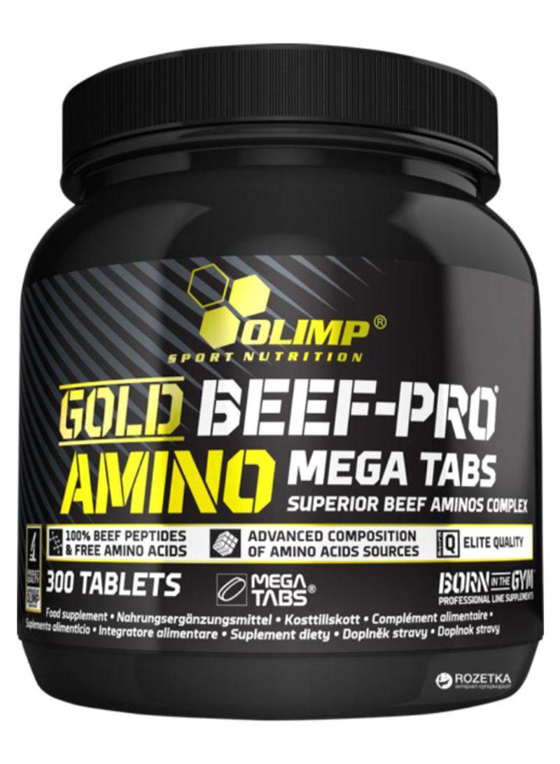 Gold Beef Pro Amino Mega - 300 Tablet