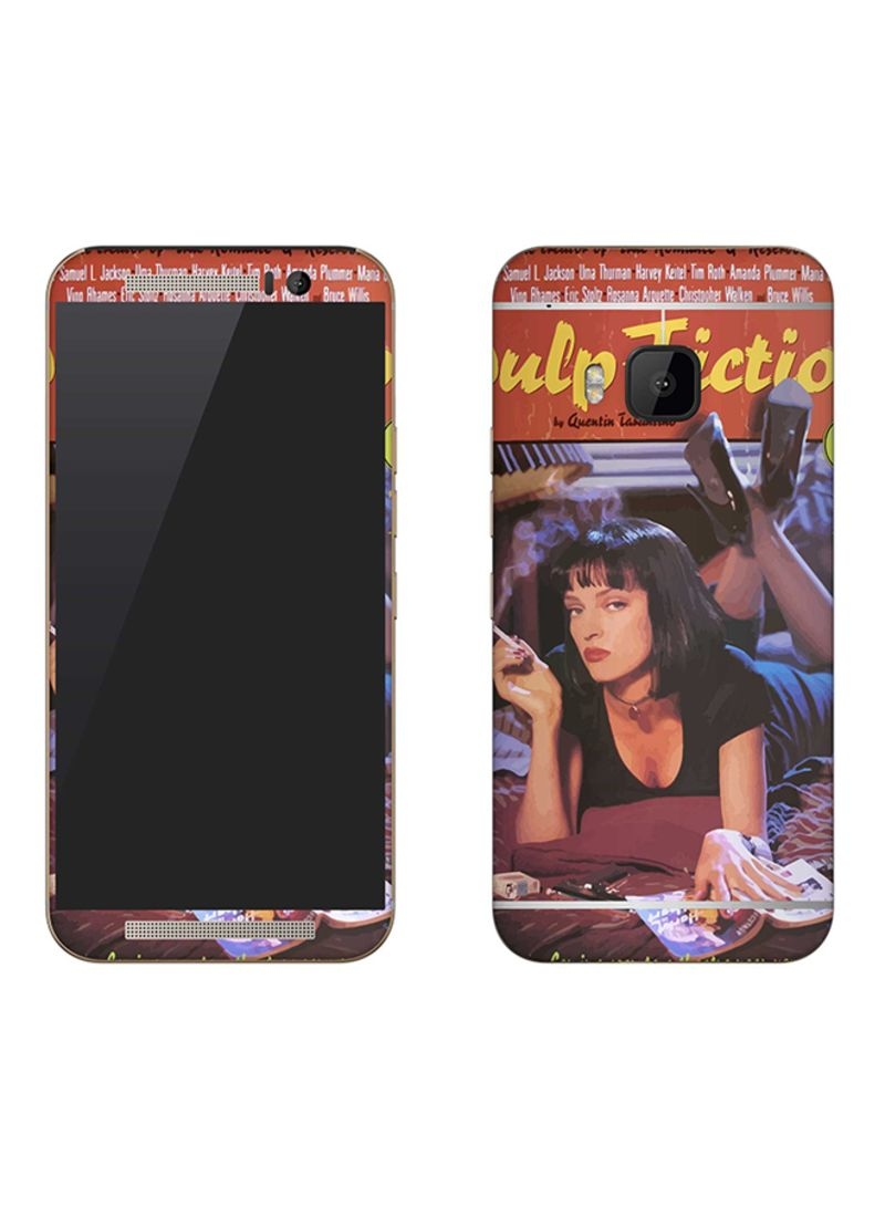Vinyl Skin Decal For HTC One M9 Pulp Fiction