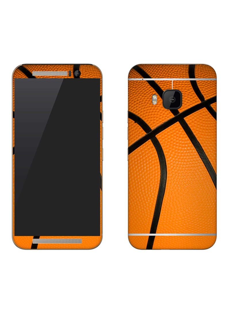 Vinyl Skin Decal For HTC One M9 Basketball