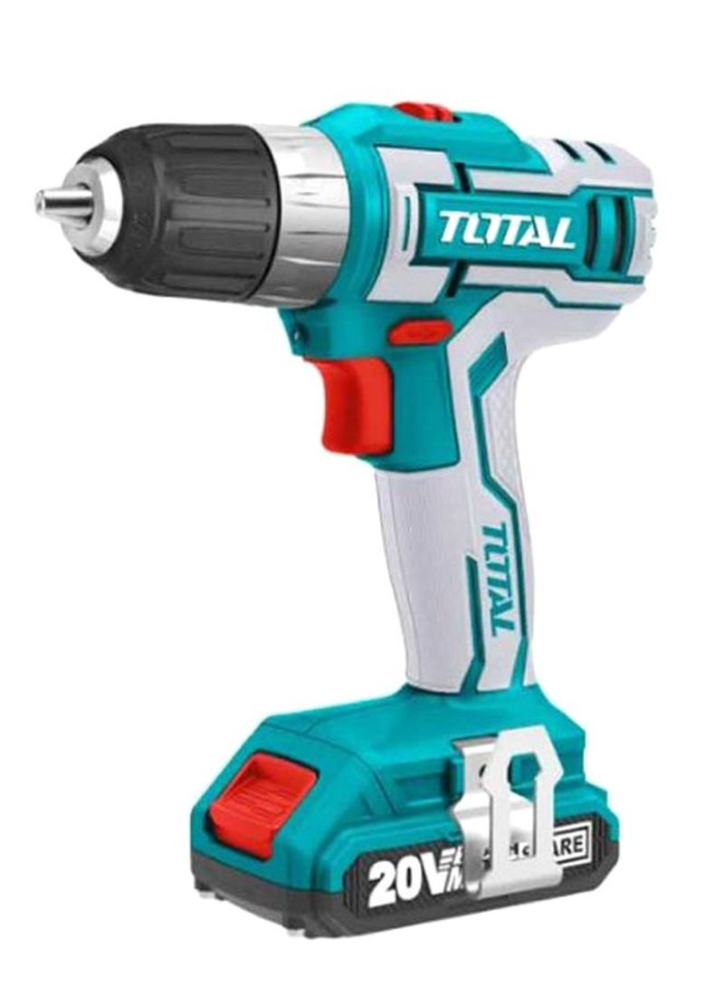 Cordless Drill With Batteries And Fast Charger Multicolour