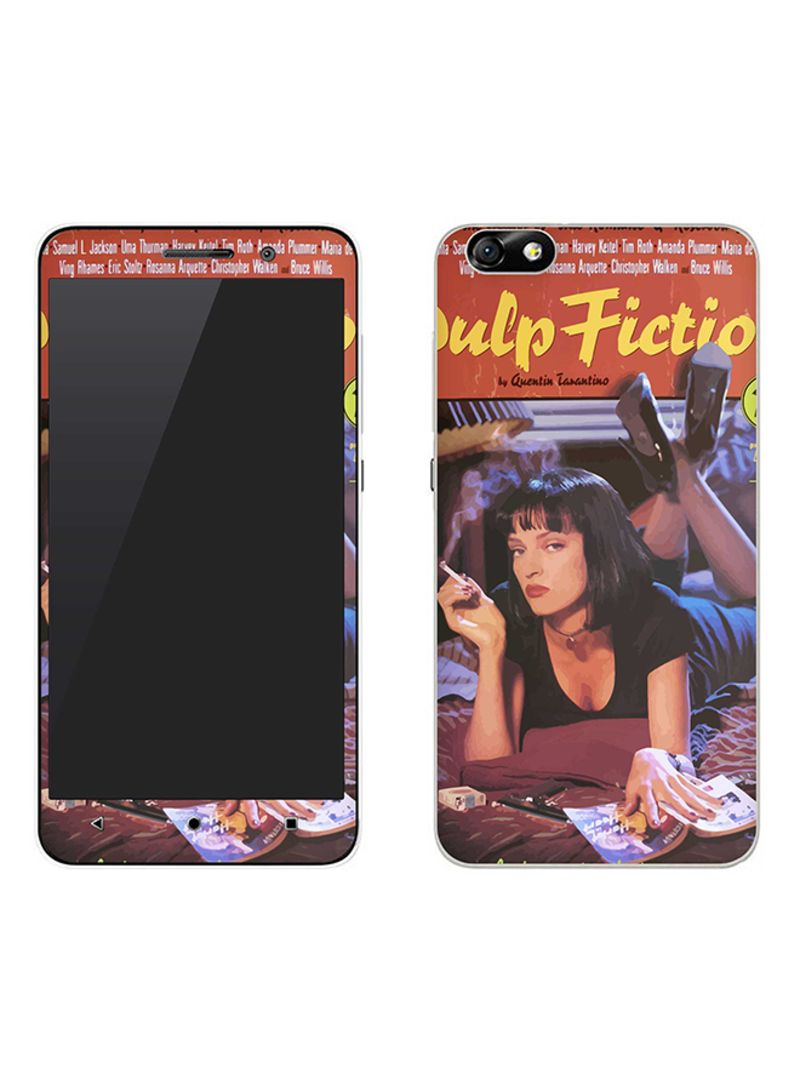 Vinyl Skin Decal For Huawei Honor 4X Pulp Fiction