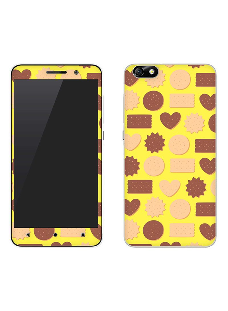 Vinyl Skin Decal For Huawei Honor 4X Hearty Biscuits