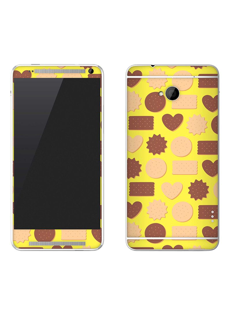 Vinyl Skin Decal For HTC One Hearty Biscuits