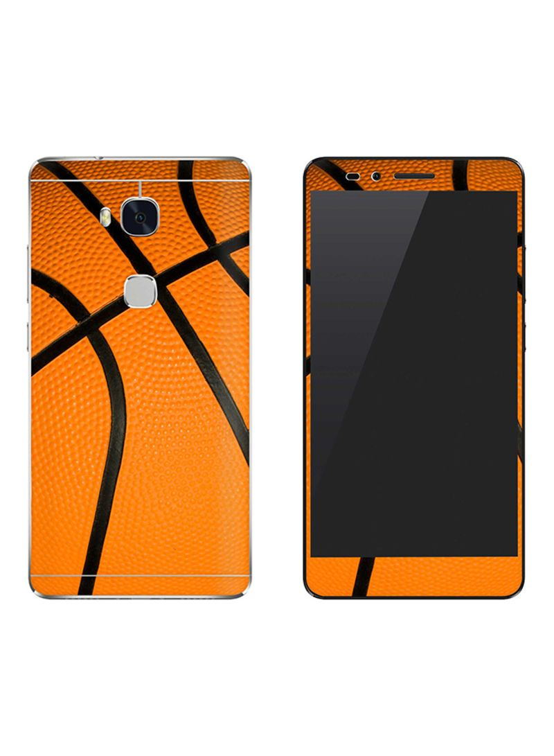 Vinyl Skin Decal Body Wrap For Huawei Honor 5X Basketball