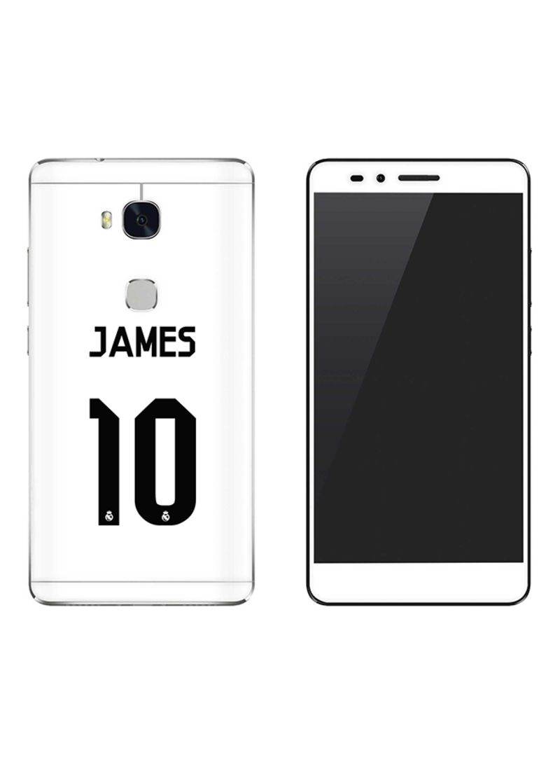 Vinyl Skin Decal For Huawei Honor 5X James Real Jersey
