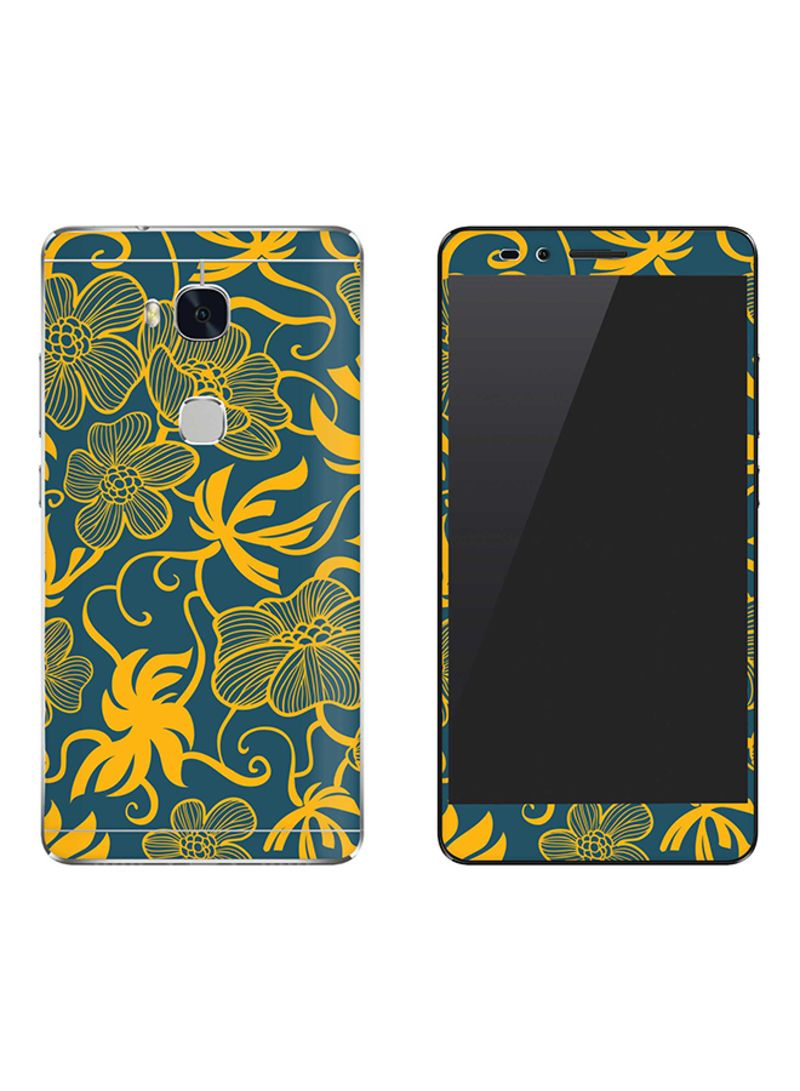 Vinyl Skin Decal For Huawei Honor 5X Euro Pattern