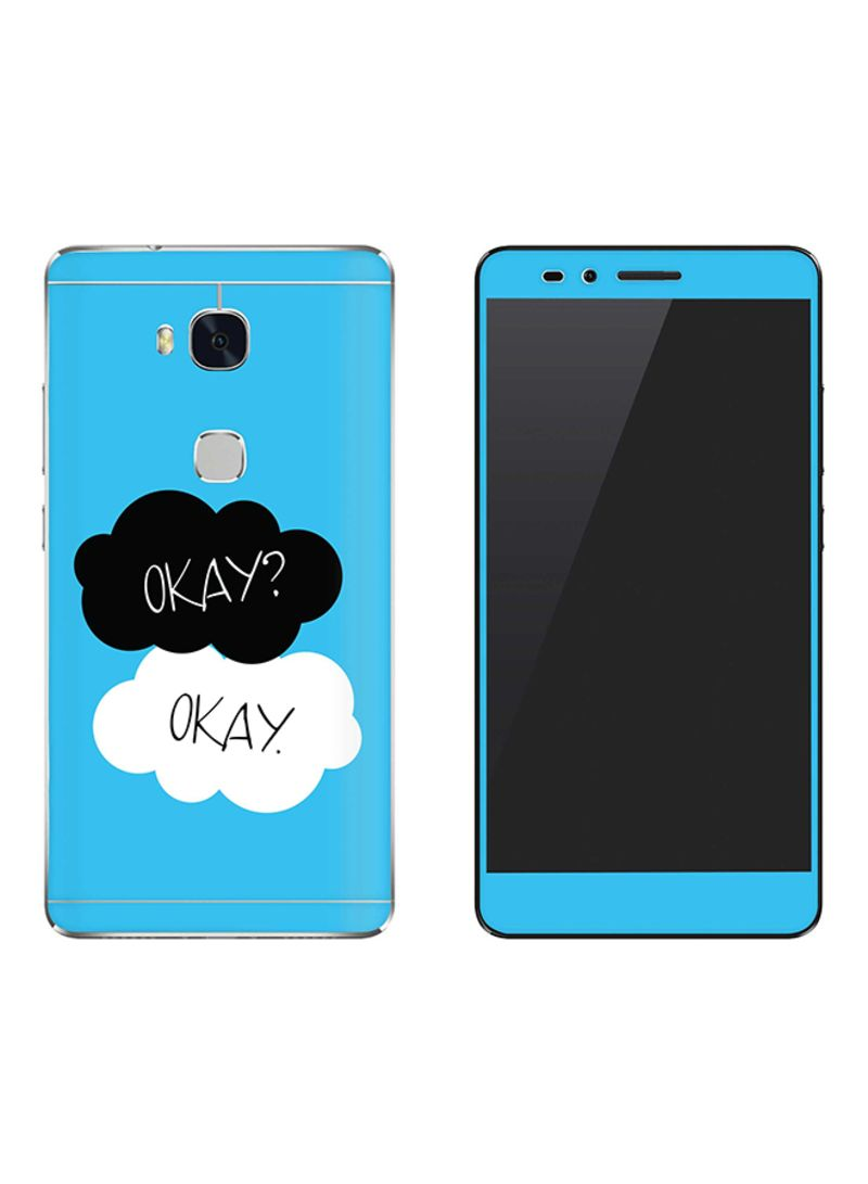 Vinyl Skin Decal For Huawei Honor 5X Okay Okay