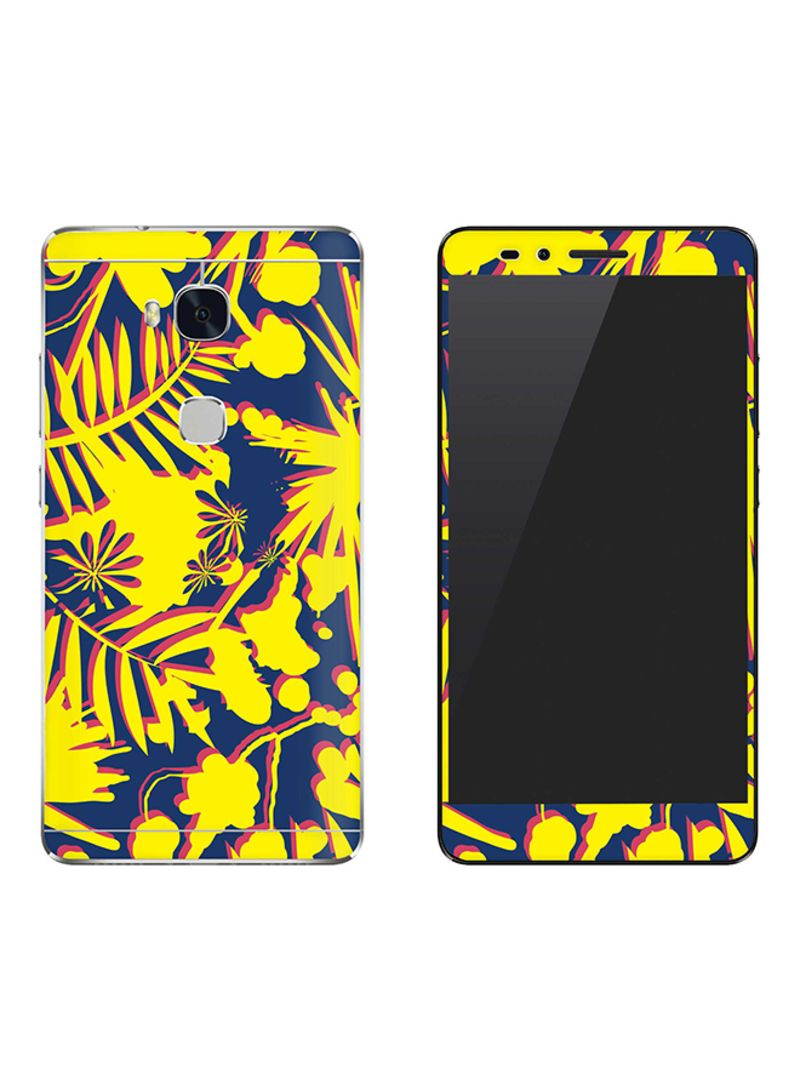 Vinyl Skin Decal For Huawei Honor 5X Hawaii Jungle