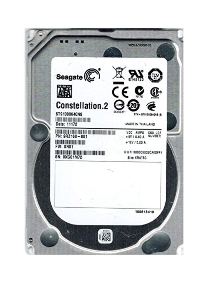 Internal Hard Drives Silver 1 TB