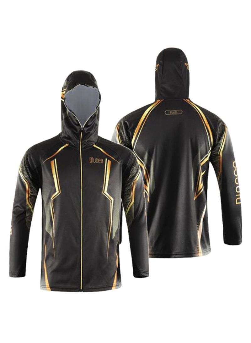 Sun Protection Fishing Jersey Sports Tops