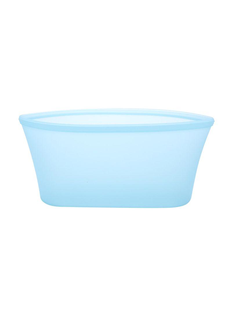 3-Piece Reusable Food Storage Container Set Blue 24 x 8 x 10.5 centimeter