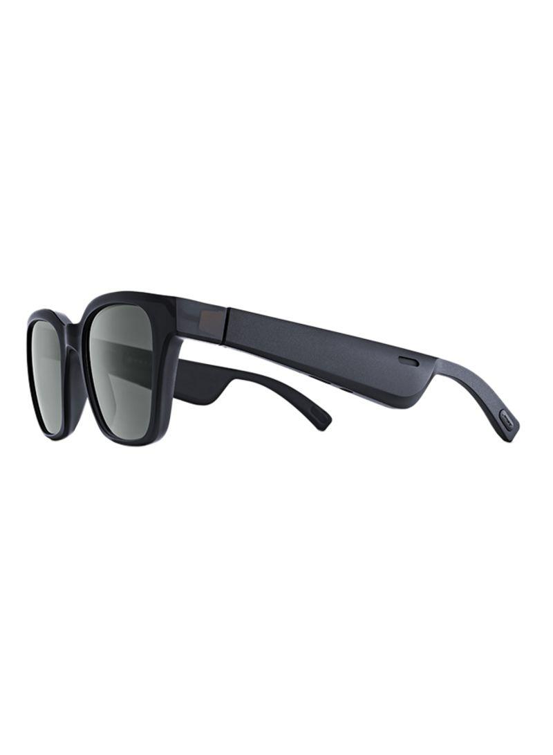 Alto Frames Low Bridge Audio Sunglasses Black