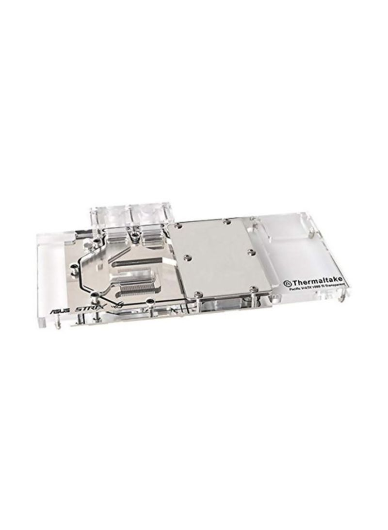 Pacific V-GTX 1080Ti Transparent Full-Cover Water Block For ASUS ROG Clear