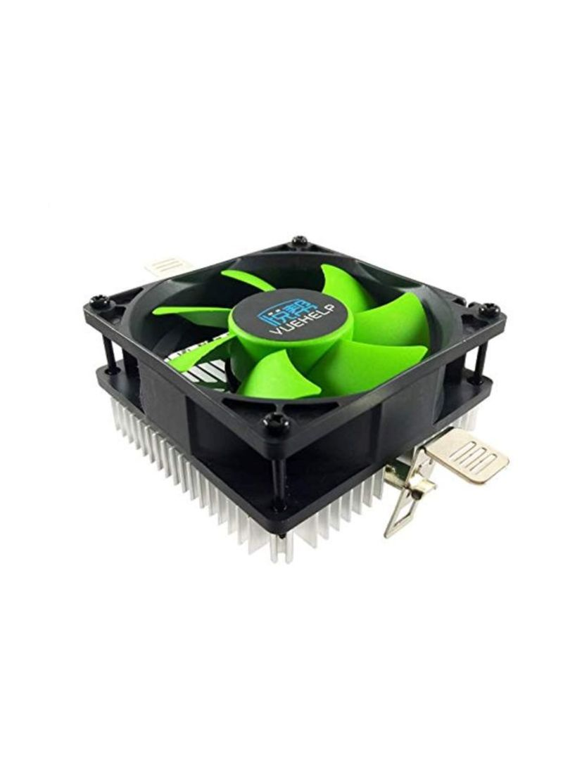Replacement Laptop Fan Replacement for HP Pavilion Black/Green/Silver 3.14 inch