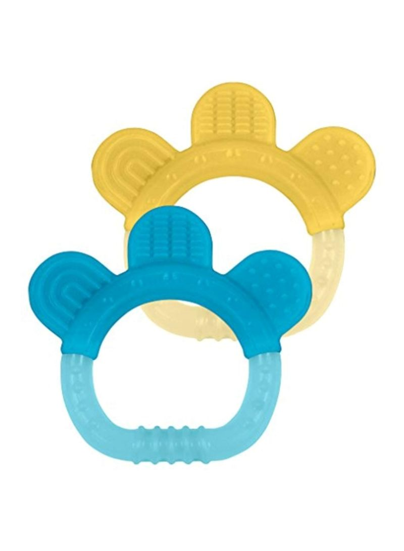 2-Piece Silicone Teethers (3+ Months)