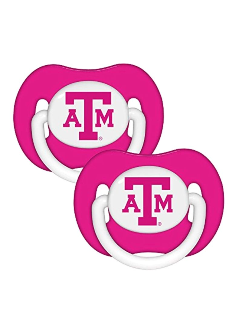 2-Piece Silicone Pacifiers