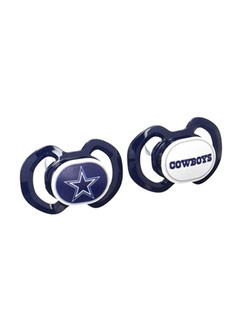 2-Piece Dallas Cowboys Pacifiers