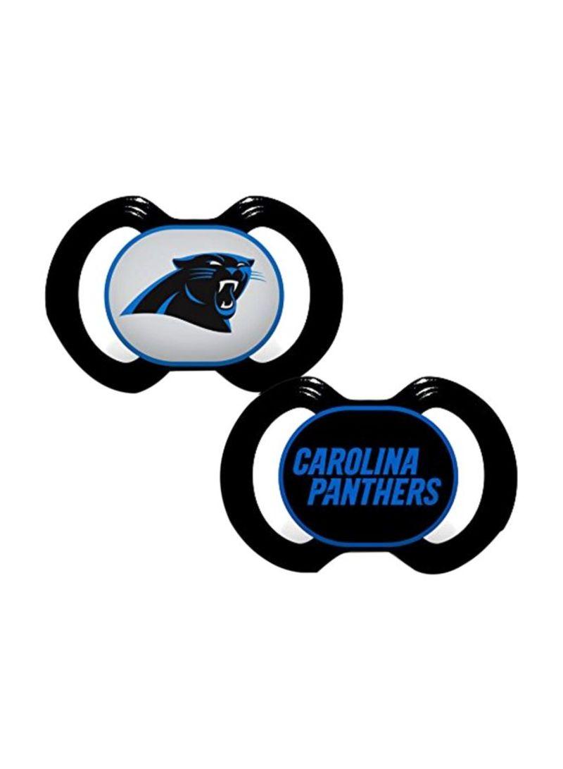 2-Piece Carolina Panthers Pacifiers