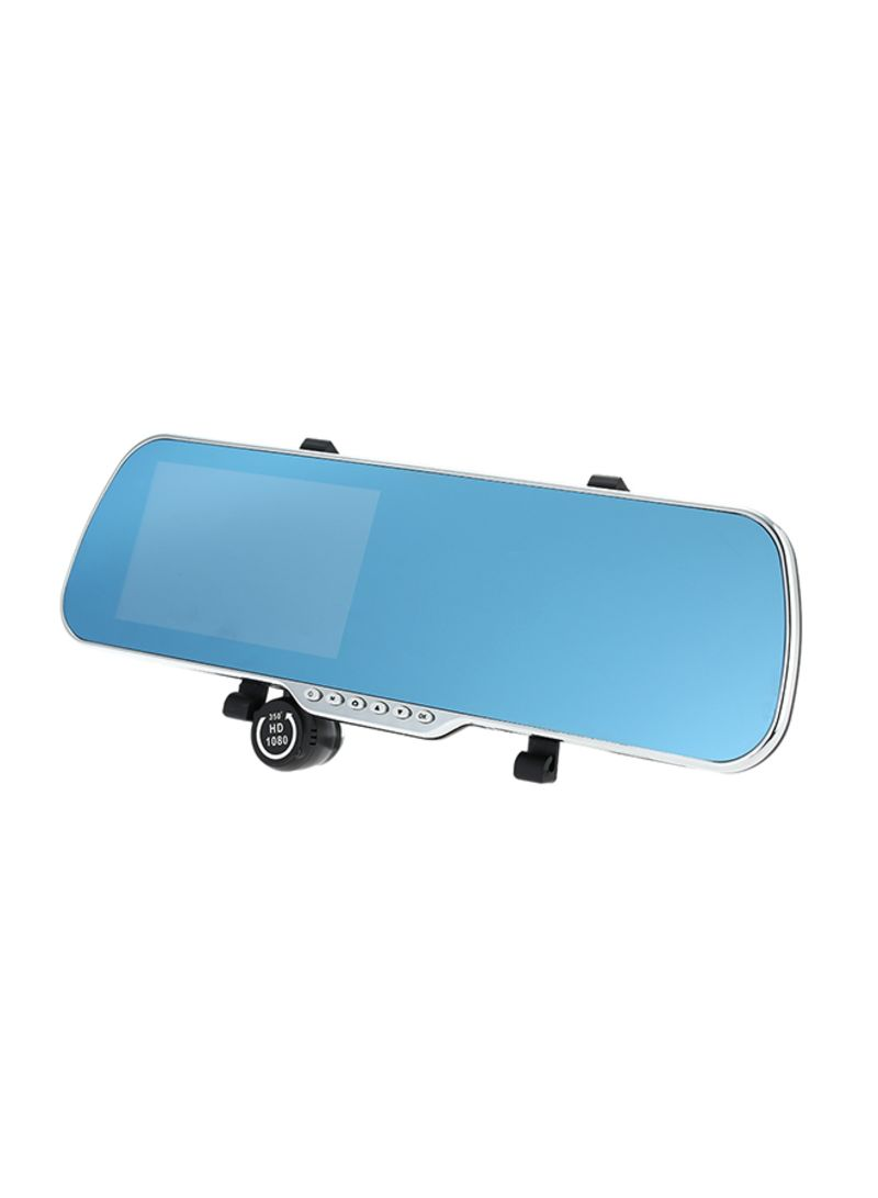 Dual Lens GPS Navigation Car Rearview Mirror With Accessories