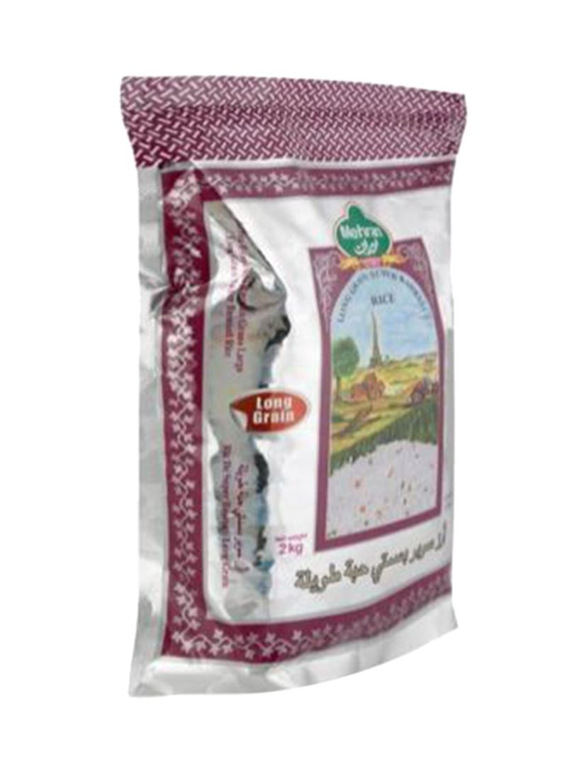 Long Grain Super Basmati Rice 2 kg
