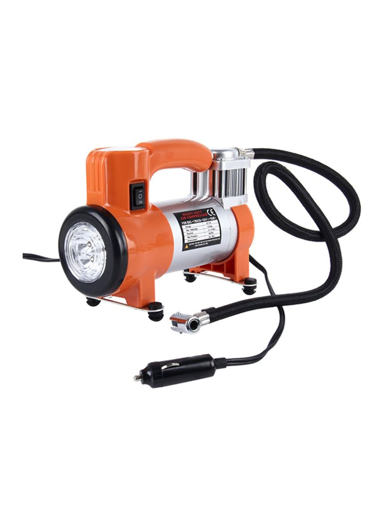 WM102-10 12V Air Pump With Gauge And 5 Illumination LED Lamps