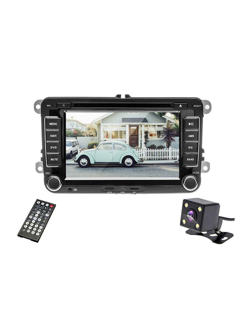 Car Rear View Mirror Monitor Camera DVD Player GPS Navigation Player Stereo Radio