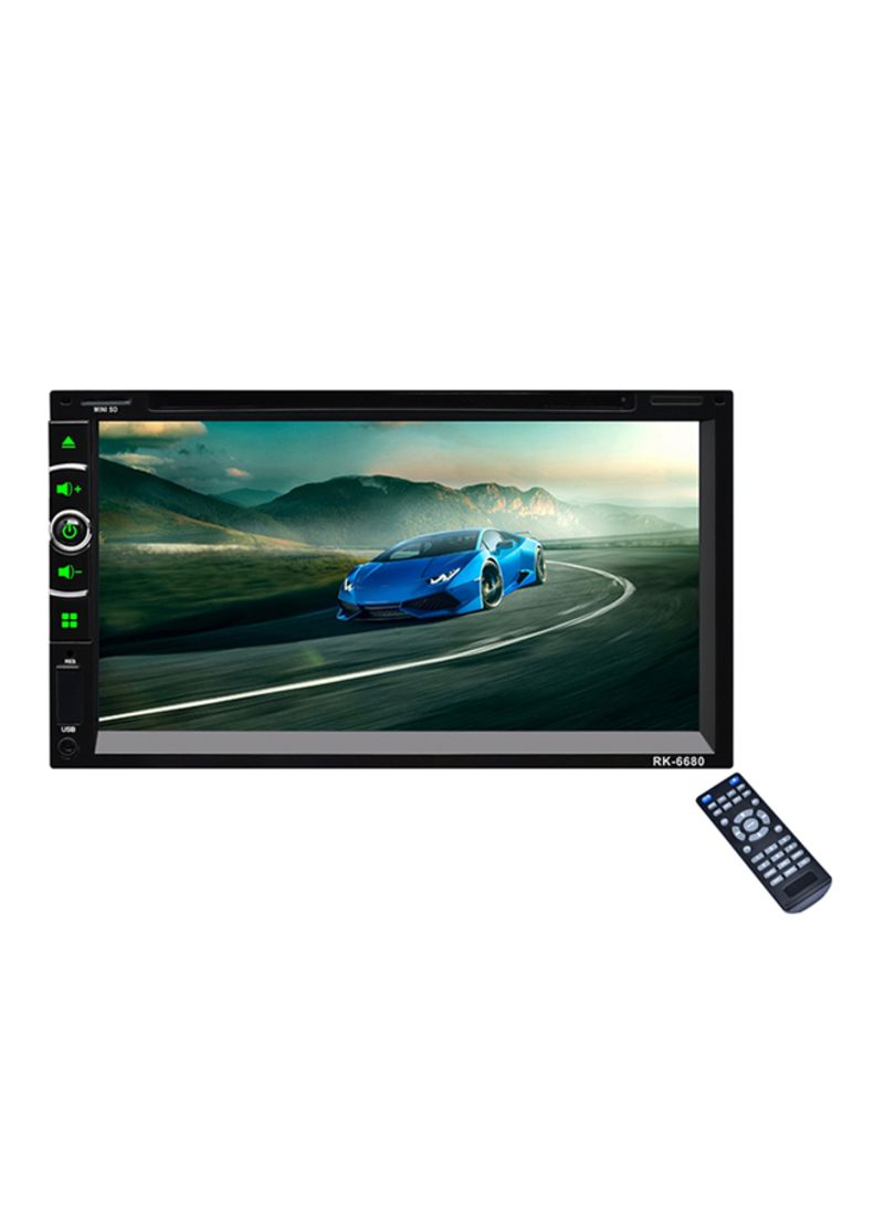 Double Din Car Multimedia Cd Dvd Player