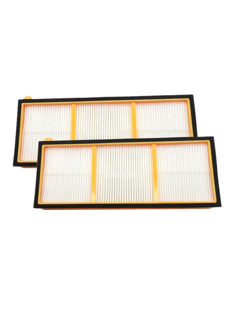 2-Piece HEPA Filters For Shark Vacuum Cleaner Set DW2170 Multicolor