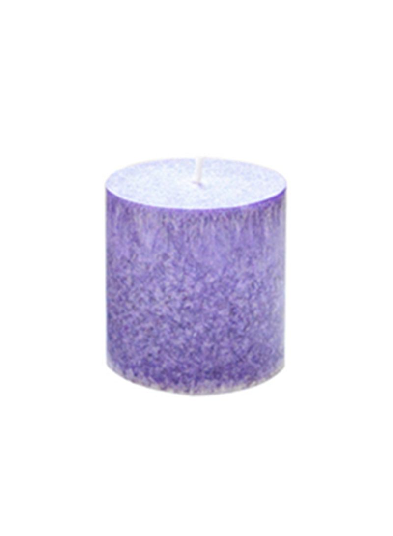 Lavender Scented Smokeless Candles Purple