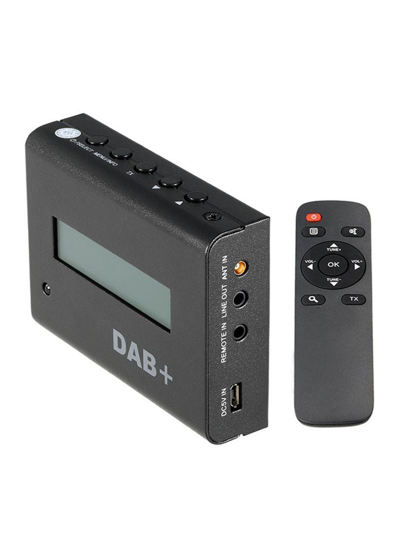 Car FM DAB / DAB+ Digital Receiver With Remote Control Audio Output