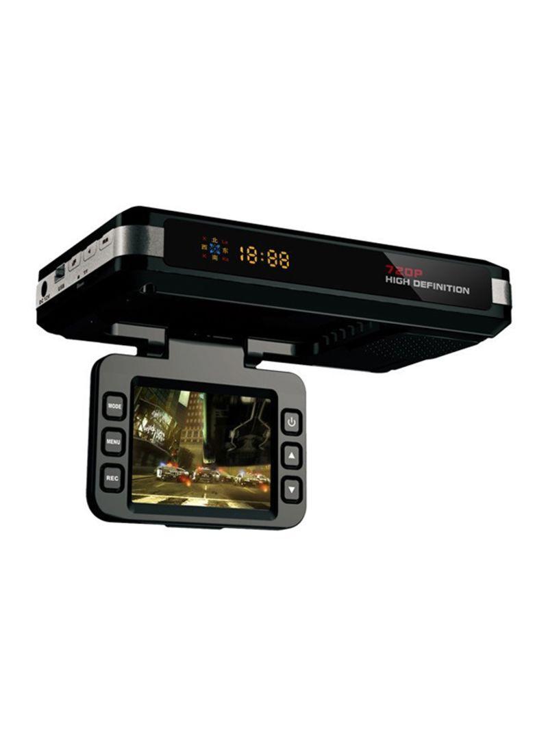 STR8500 HD 720P 30FPS 2.0-Inch LCD Radar Detector DVR With Laser