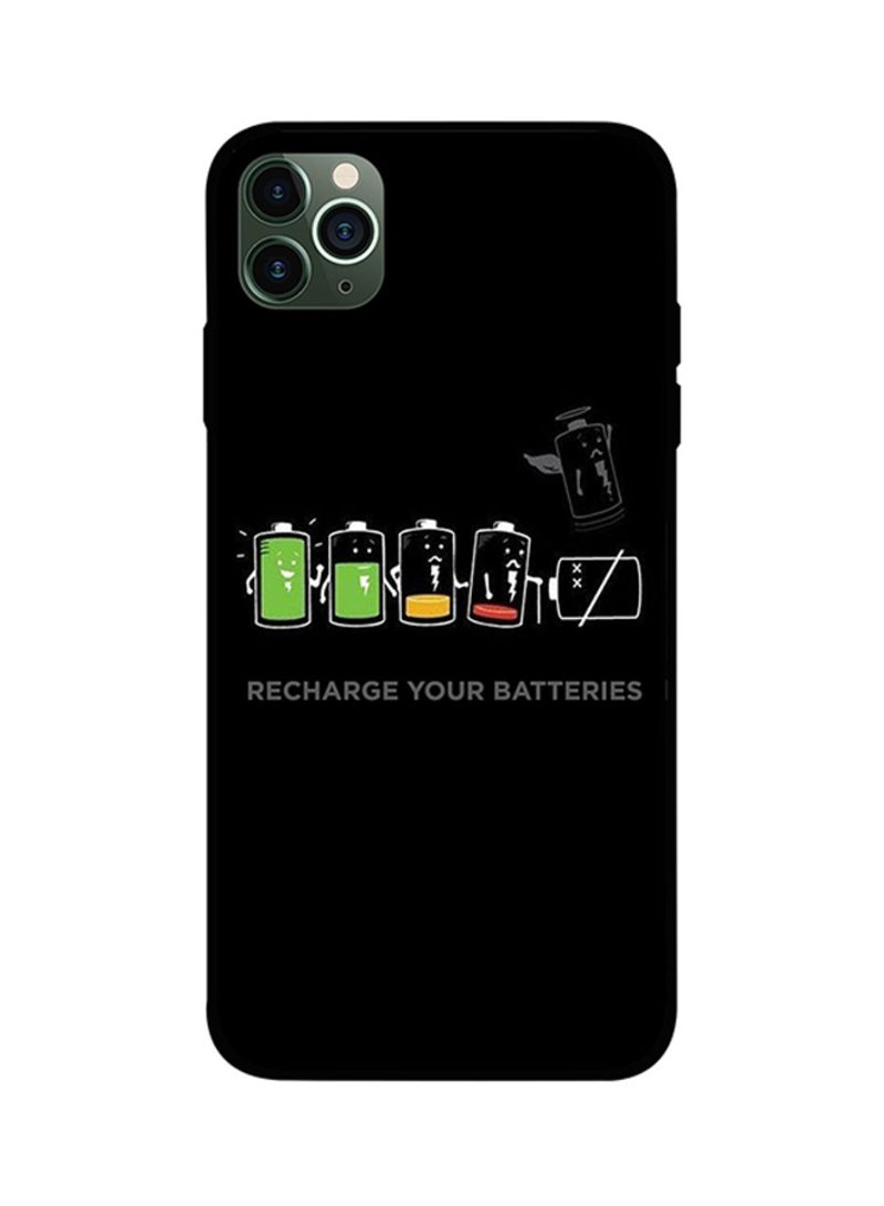 Protective Case Cover For iPhone 11 Pro Recharge Your Batteries