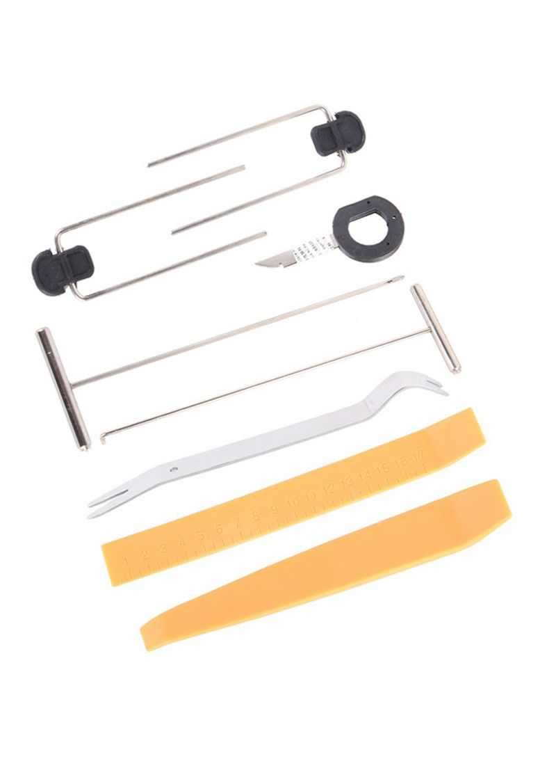 9-Piece Car Dismantle Tools For Video And Audio System