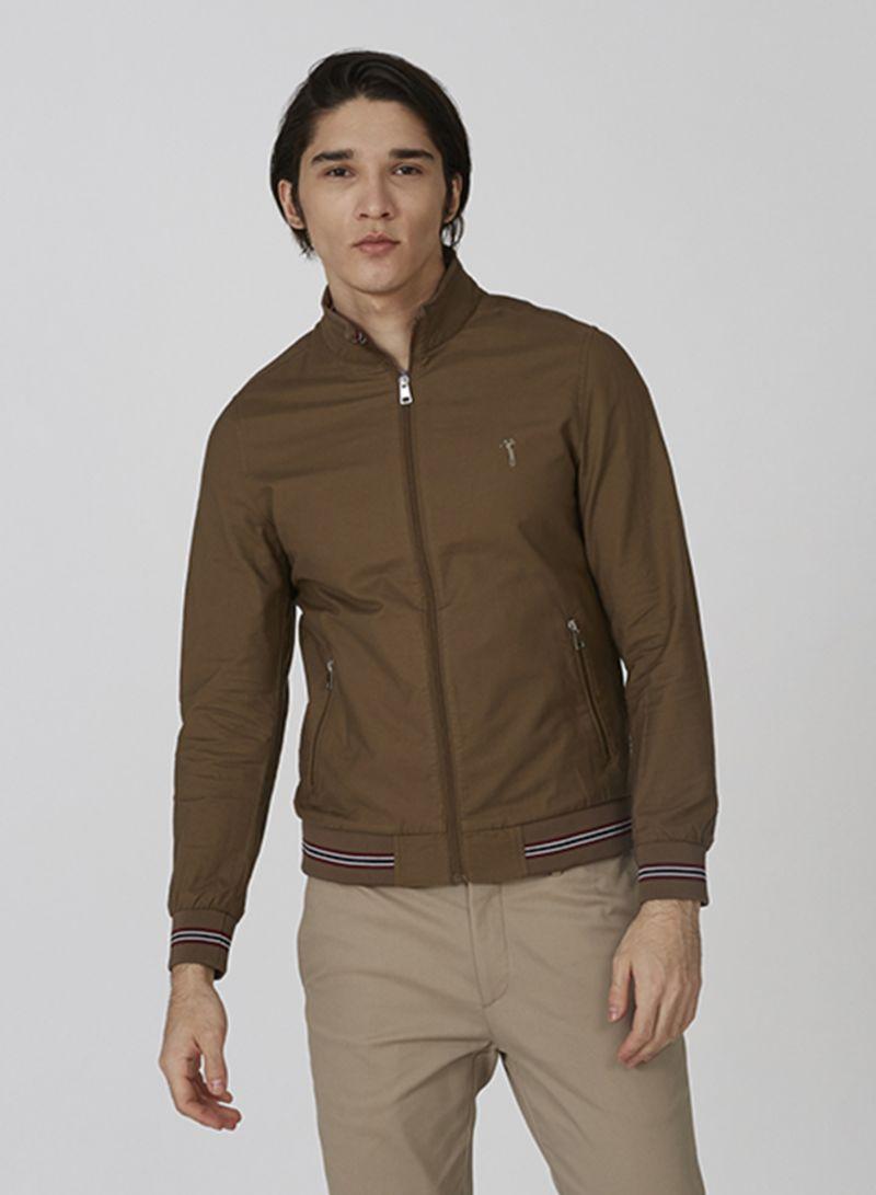 Outerwear Warm Jacket Brown