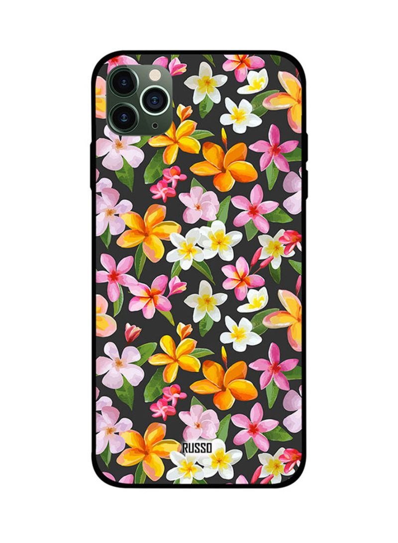 Protective Case Cover For Apple iPhone 11 Pro Max Printed Flowers Art
