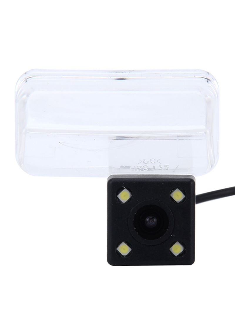 720x540 Effective Pixel NTSC 60HZ CMOS II Waterproof Car Rear View Backup Camera With 4 LED Lamps