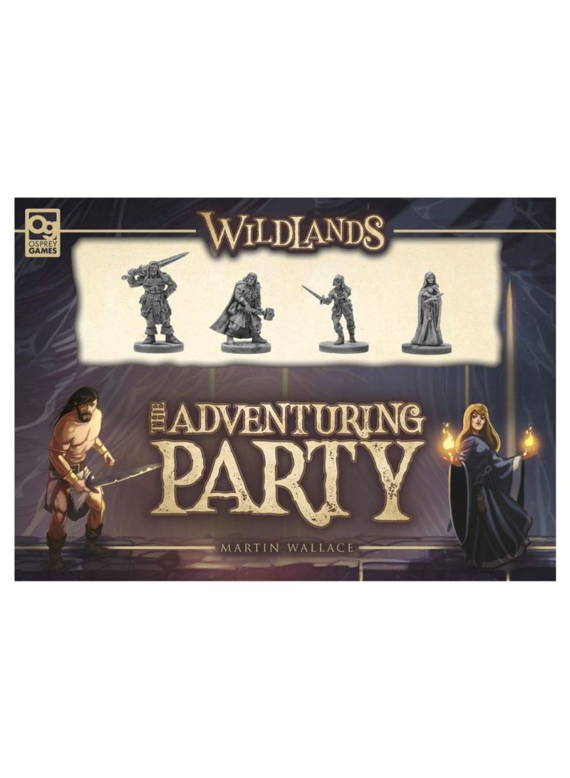 Wildlands The Adventuring Party Board Games