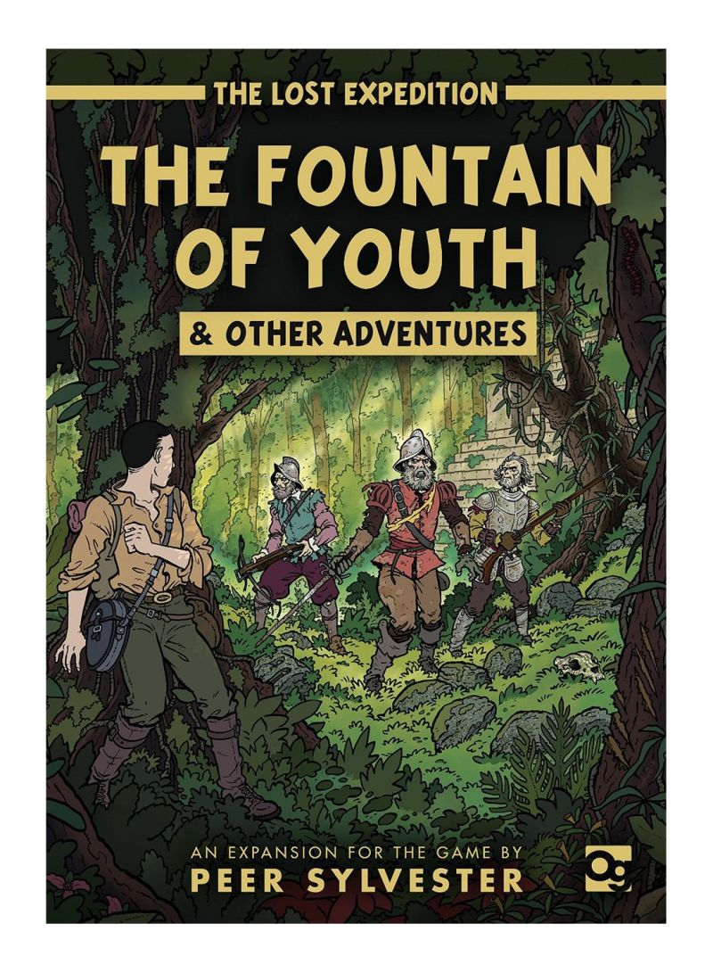 The Lost Expedition The Fountain of Youth Board Games