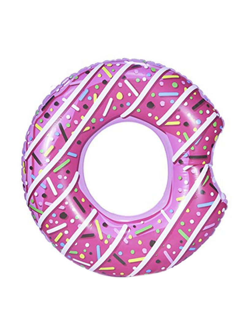 Donut Pattern Inflatable Swimming Ring 90 centimeter