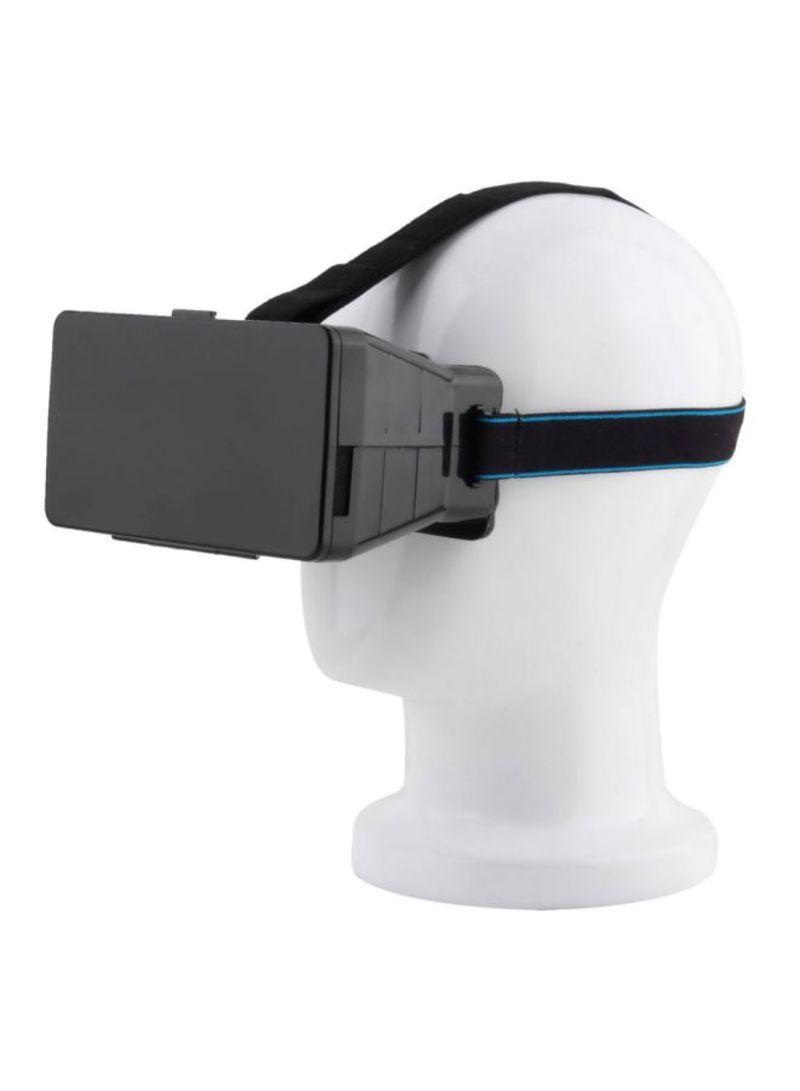 3D VR Headset For Smartphone Black