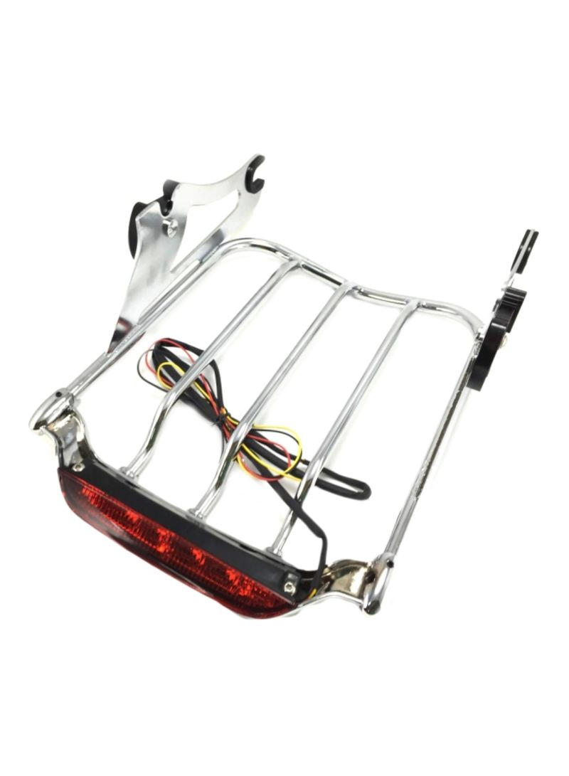 Detachable Air Wing Luggage Rack With LED Light for Harley Davidson 2009 To 2018 Touring Motorcycle