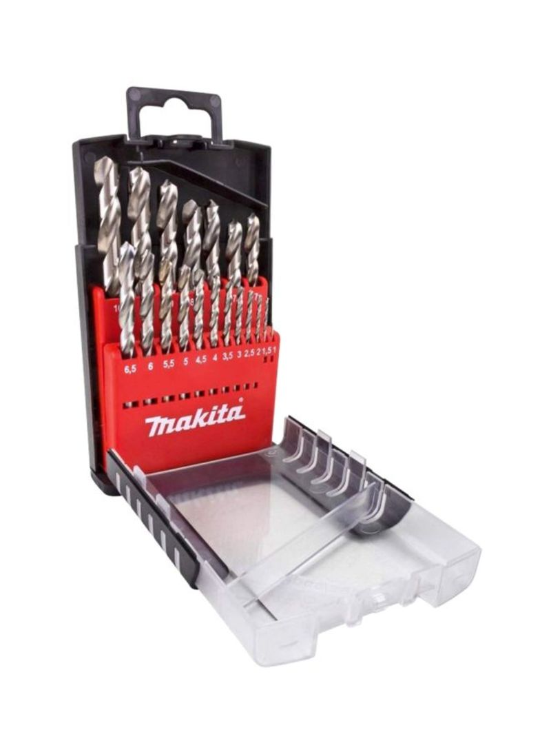 19-Piece Hand Tools Set Silver 10 millimeter