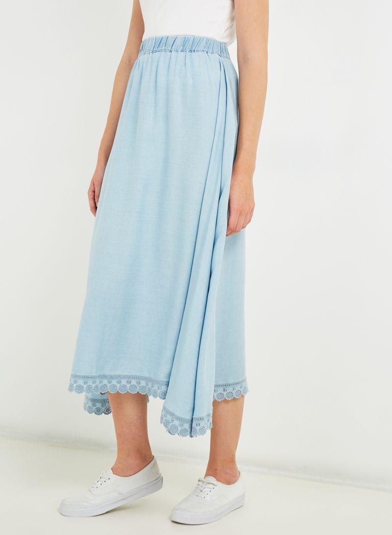 Denim Skirts Blue
