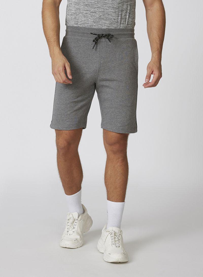 Men Bottoms Regular Shorts Grey