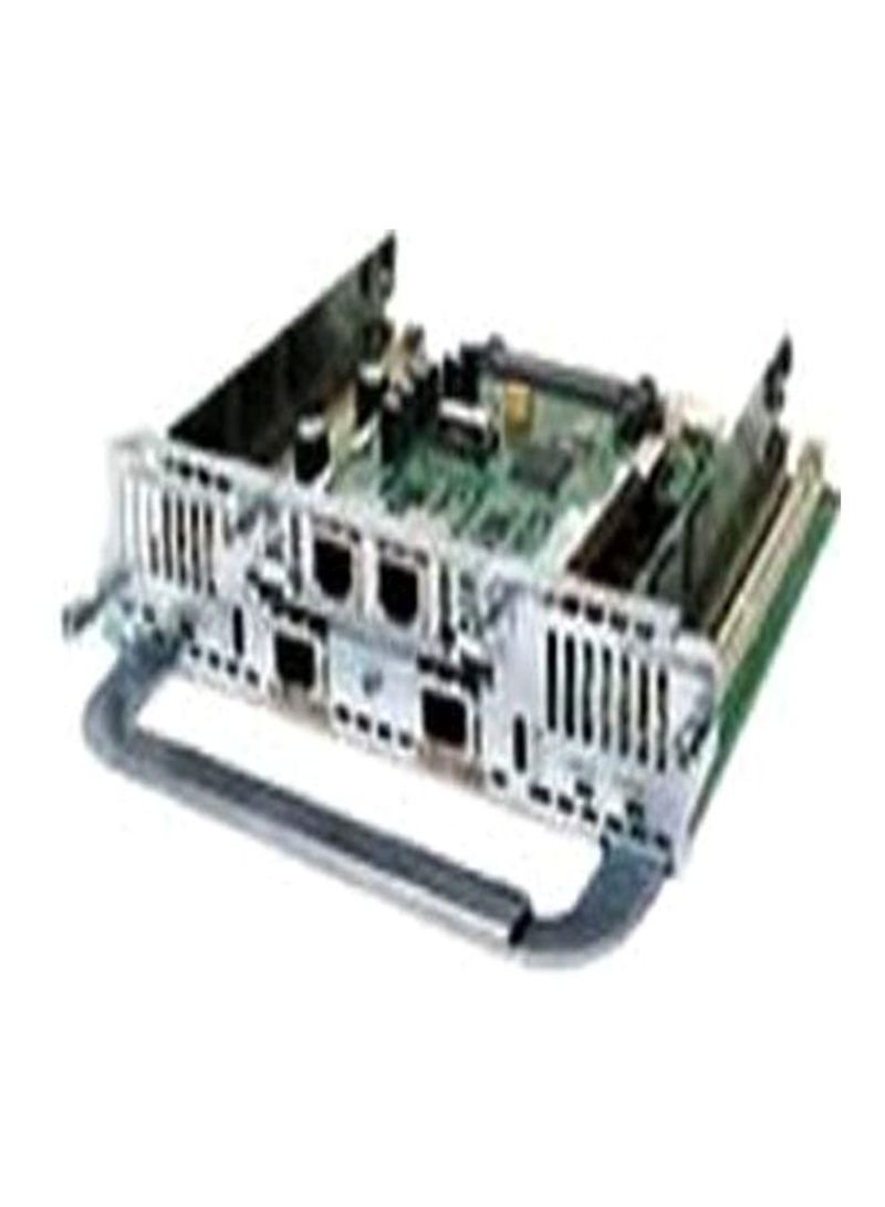 High-Density Digital Voice And Fax Network Module Green