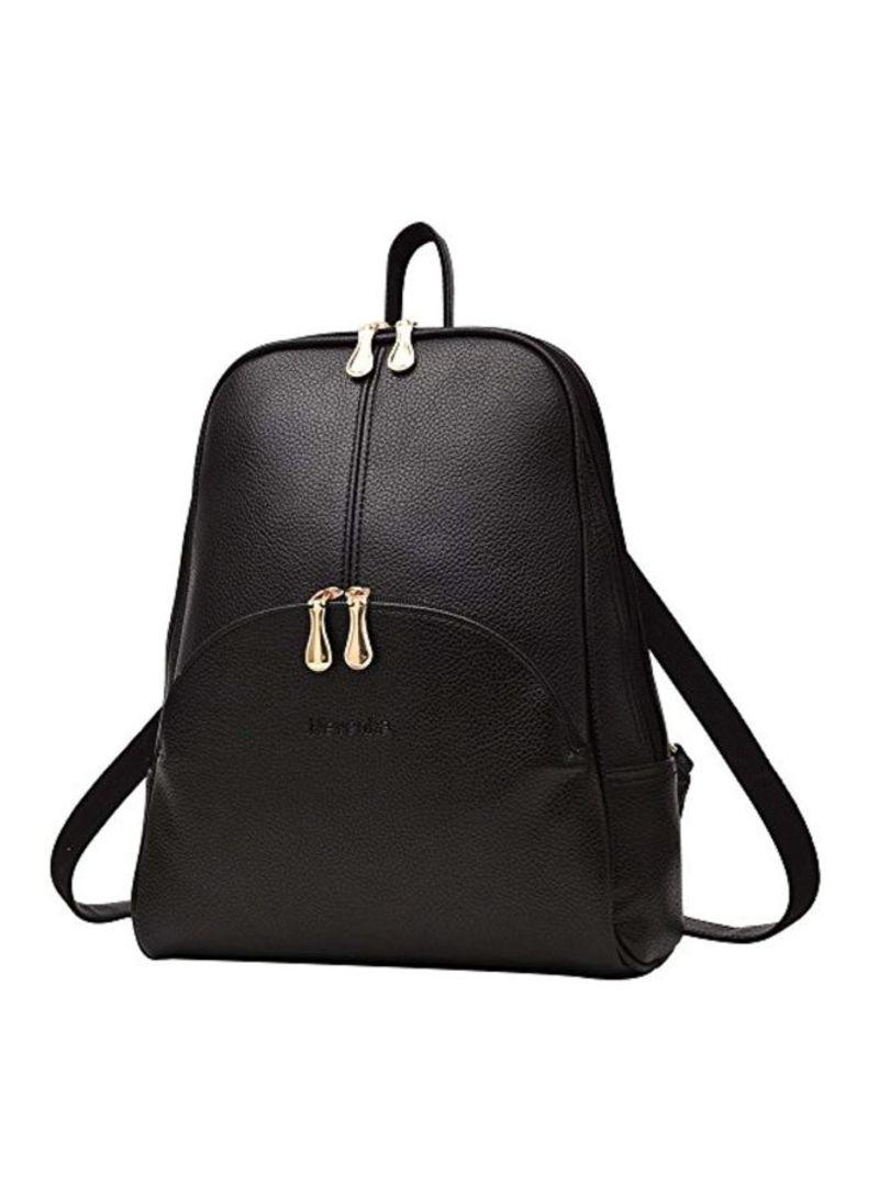 PU Leather Casual Backpacks
