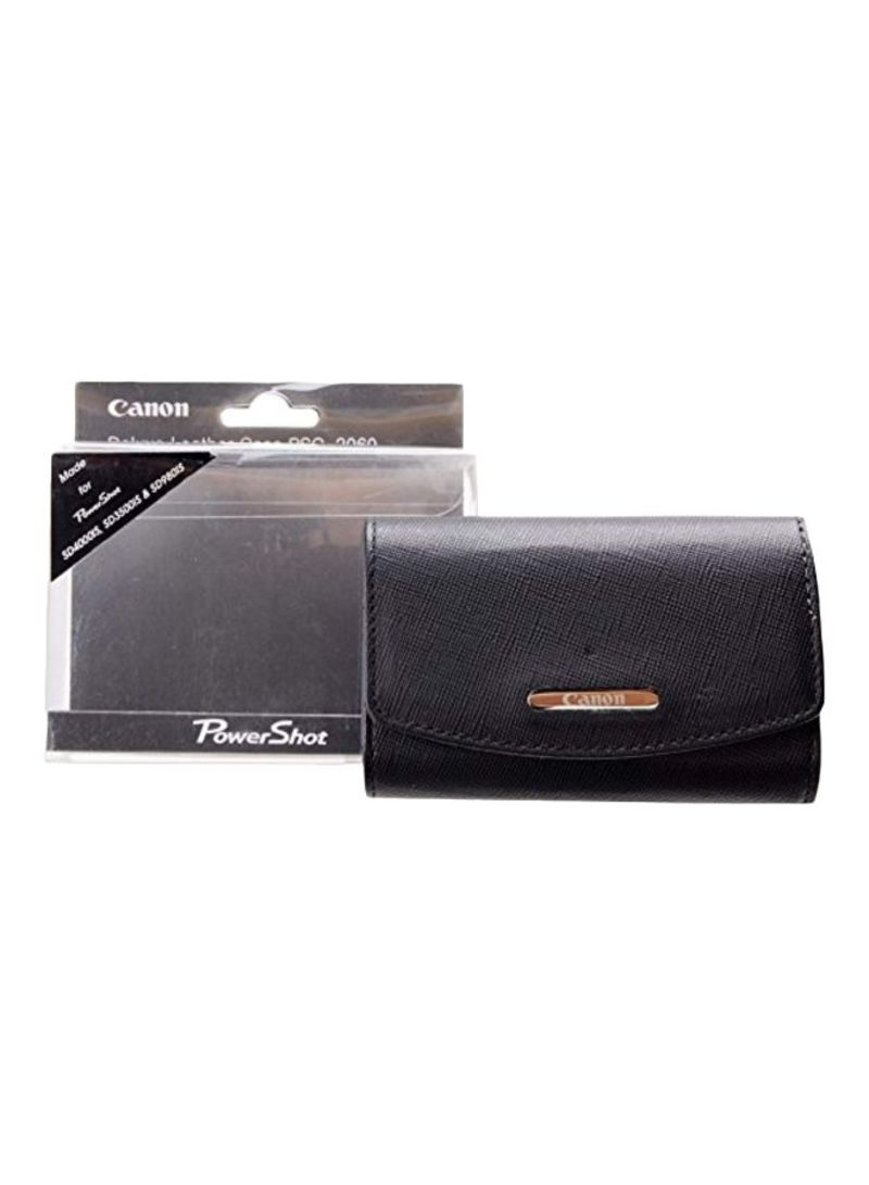 Deluxe Fitted Case For Canon Powershot Black